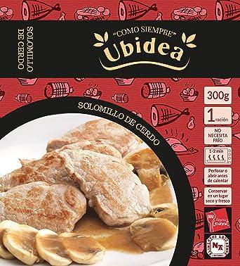 Solomillo de Cerdo en Salsa de Hongos - Ubidea - 3 platos