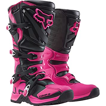 2018 Fox Racing Womens Comp 5 Boots-Black/Pink-9