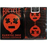 jugando a las cartas Karnival RED Dose Deck Bicycle Playing Cards -Redux Edition (Ltd Ed)