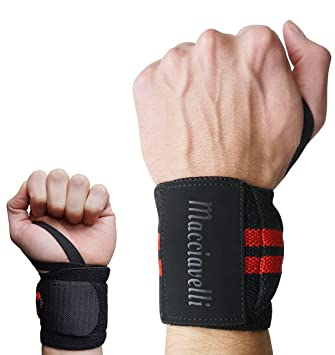6a577468514 Elli Macciav – Wrist Straps Competition Wrist Wraps Weightlifting  Bodybuilding CrossFit Strength Sports