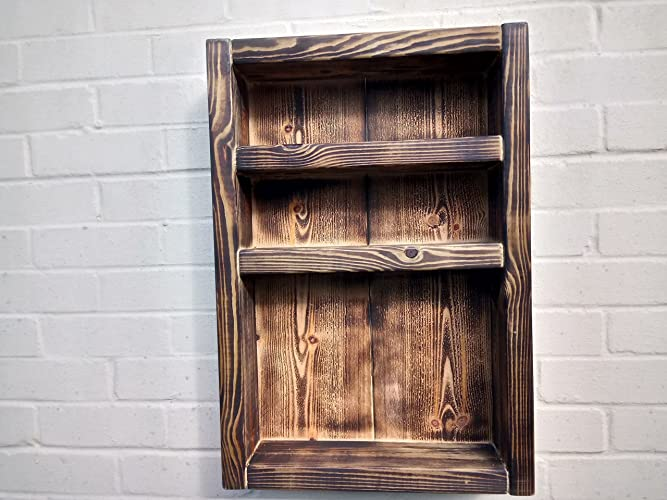 cheaper 0cc4a c2afb Lovely Rustic Wood Wall Shelf Storage Units With Shelves ...
