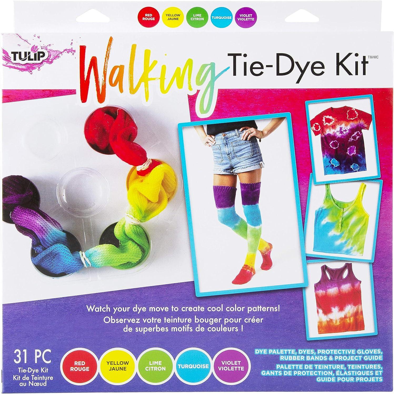 Tulip One-Step 5 Color Tie-Dye Kits Ultimate Renewed 1.5oz