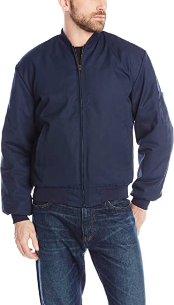 Red Kap Mens Solid Team Jacket with Insulated Zip-Out Liner Red Kap Men/'s Apparel JT38