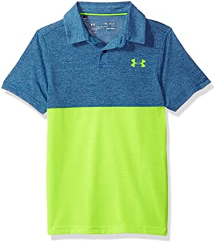 6e9fd01ecea Under Armour Boys  Threadborne Blocked Polo  Amazon.co.uk  Sports ...