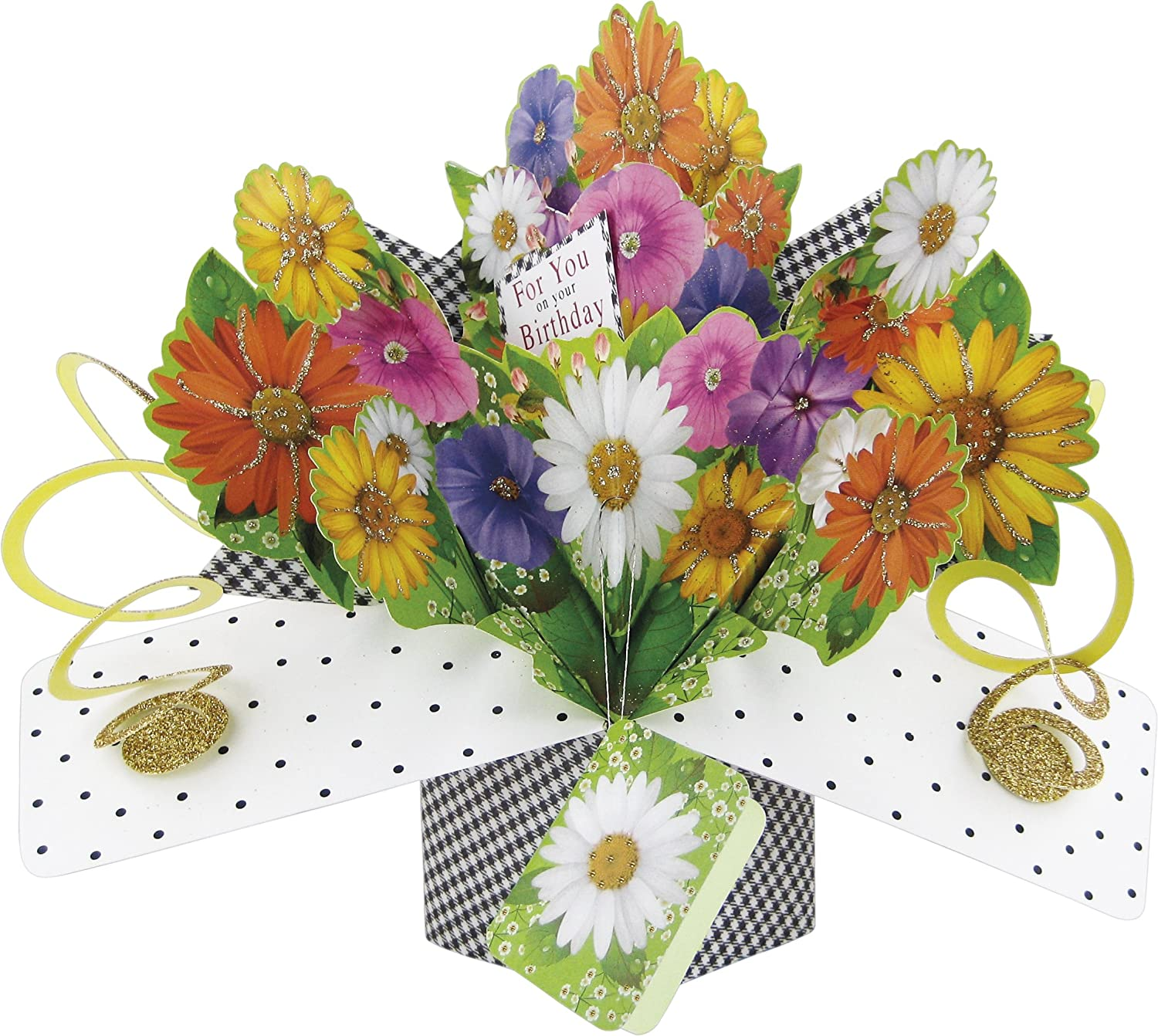 Amazon second nature pop ups for you on your birthday bouquet amazon second nature pop ups for you on your birthday bouquet pop up card office products izmirmasajfo