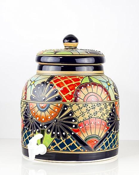 Dispensador de agua mexicano Talavera Pottery cacerola ...