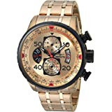 Invicta Men's 17205 AVIATOR 18k Gold Ion-Plated...