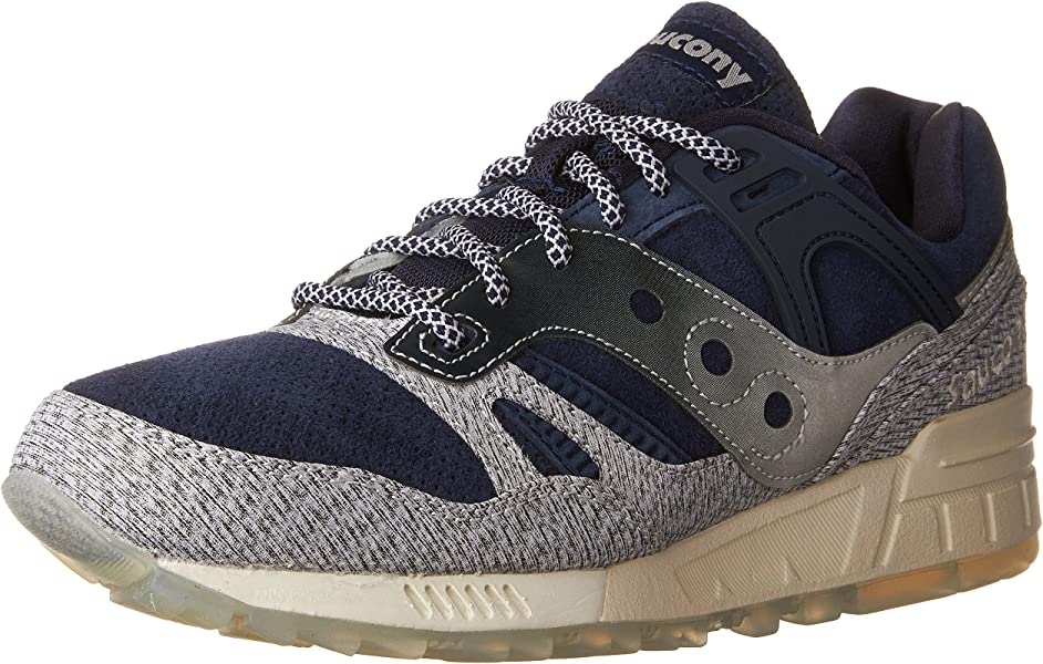 info for 1588e d3453 Saucony Men s Grid SD Lace Up Sneaker,Grey Navy,US ...
