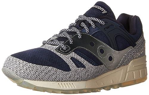 NUOVO SAUCONY GRID SD Scarpa Sneaker Turn Scarpa Blu Navy Grigio Uomo Donna s703161