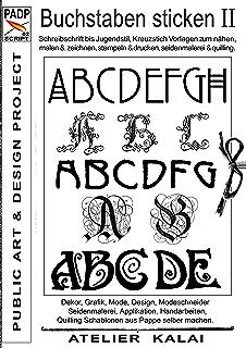 Padp Script 001 Buchstaben Sticken Stickmuster Vorlagen Für Namen