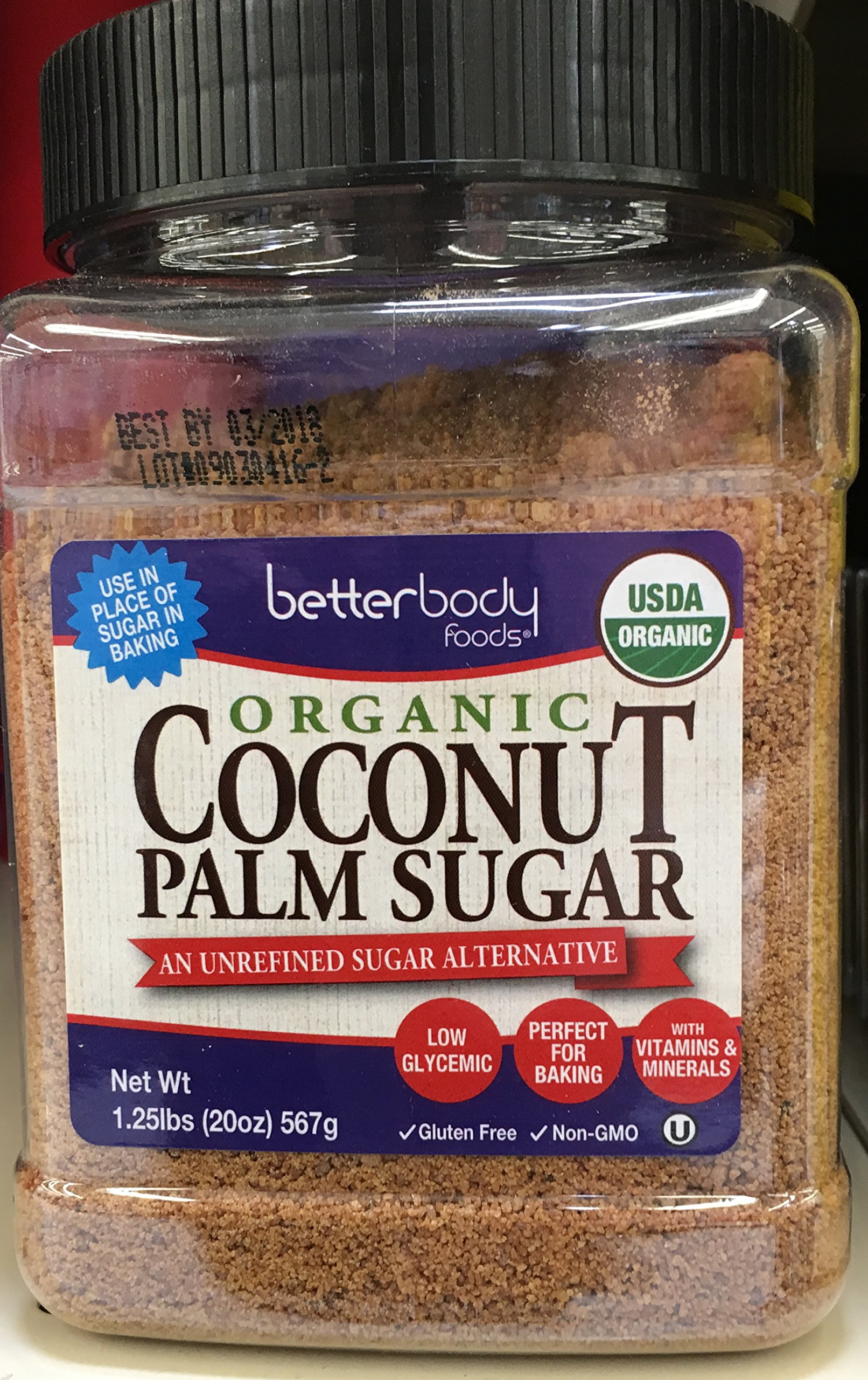 Betterbody Sugar Coconut by Betterbody Foods