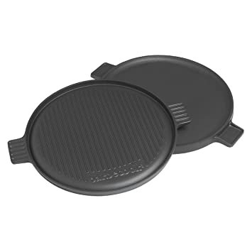 Barbecook 223.0230.043 - Planchas para barbacoa (35 cm): Amazon.es: Jardín