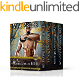 The Warriors of Eriu Complete Four Book Box Set: A Steamy Celtic Historical Romance Series