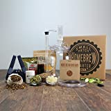 1 Gallon Beer Home Brewing Starter Kit with American Wheat Beer Recipe Kit