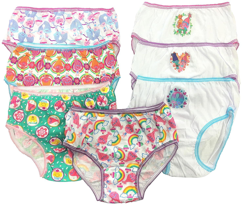 Trolls Girls Poppy Knickers Pack of 5