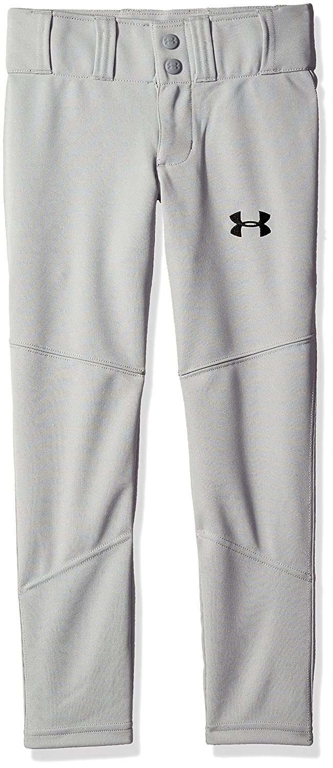 Under Armour Boys ' Lead Off野球パンツ B018S835D4Baseball Gray (075) Youth X-Large