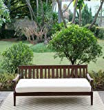 Cambridge-Casual 071460 Como Daybed with Cushion, Natural
