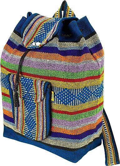 Cotton Duffel Hippie Boho Unisex Handbag Shoulder Bag Strap Travel Sports Nepal