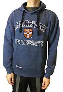 Official Cambridge University Hoody - Charcoal - Official Apparel of the Famous Univeristy of Cambridge