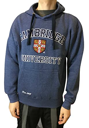 Sudadera con capucha oficial de la Universidad de Cambridge - Carbón - Ropa oficial de la famosa universidad de Cambridge: Amazon.es: Ropa y accesorios