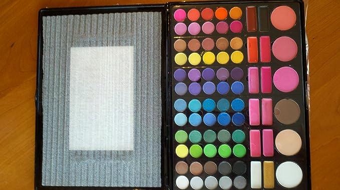 Coastal Scents - 78 Sombra de ojos y rubor paleta nuevo en caja PL-003: Amazon.es: Hogar