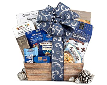 Kosher Corner Gift Basket With Ghirardelli Chocolates and Delicious Savory Snacks By Wine Country Gift Baskets