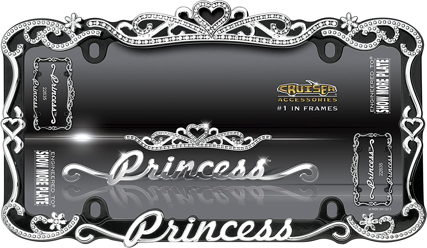 Fine License Plate Frames Girly Gift - Picture Frame Ideas ...