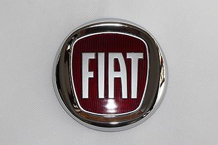 Tapas de llantas con el logo del Fiat Bravo rojo. Diámetro ...