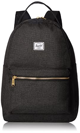 0f720fe06d7f Herschel Nova Mid-Volume Backpack Black Crosshatch One Size