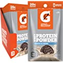 12-Pack Gatorade Whey Protein Powder Single Serve Pouches