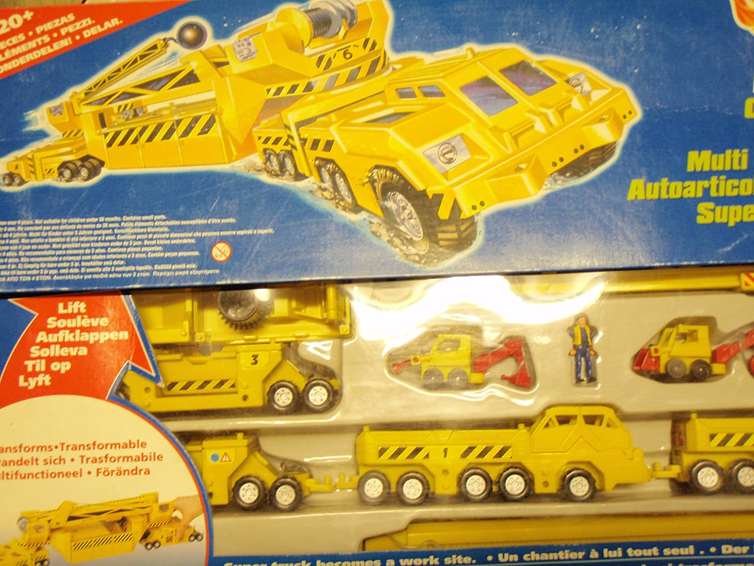 Verwonderlijk Hot Wheels MEGARIG Construction Site: Amazon.co.uk: Toys & Games ES-99