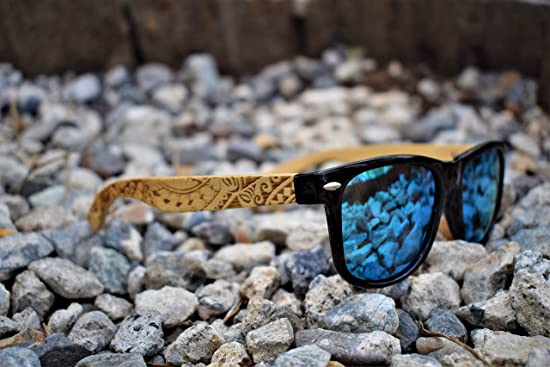 098fe1ca8d27 Koa Wood - Wayfarer Bamboo Sunglasses Polarized Lenses By Knock On ...