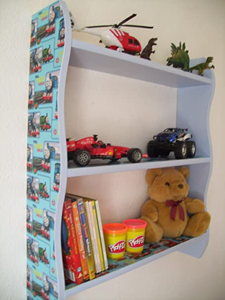70cm H Boys Thomas The Tank Engine Shelves, Childrens Bedroom, Furniture,  Toy Storage