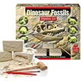 Dig Out Dinosaur Fossil Jurassic Prehistoric World Creatures Digging Kit Skeletons Toy by KandyToys