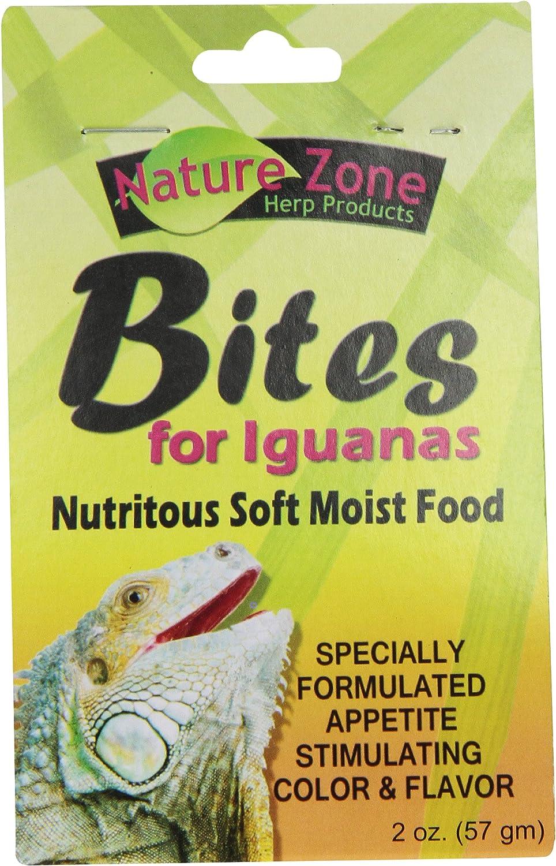Nature Zone SNZ54630 Iguana Bites Soft Moist Food, 2-Ounce