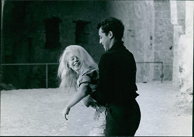 1fdc56bd2d43 Amazon.com: Vintage photo of Sal Mineo with Jill Haworth in the film ...