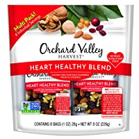 Deals on 8-Pack Orchard Valley Harvest Heart Healthy Blend 1-Oz