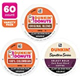 Dunkin' Donuts Coffee, Mixed Roast Variety Pack, K Cup Pods for Keurig Coffee Makers, 60 Count