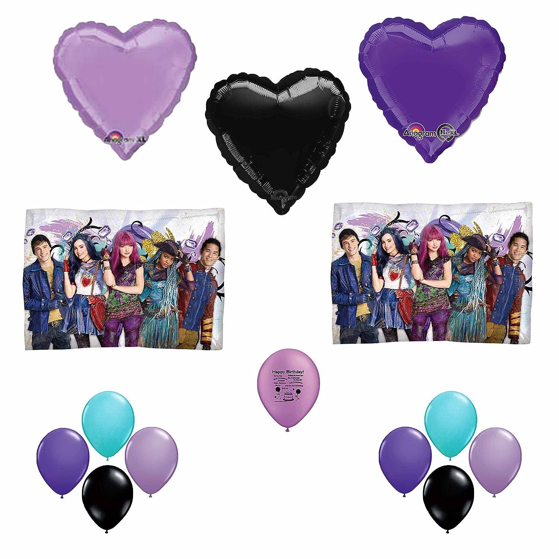 Disney The Descendants Happy Birthday Balloon Decoration Kit by Anagram