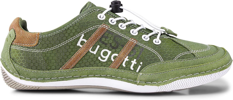 Bugatti Herren Sneakers Grün