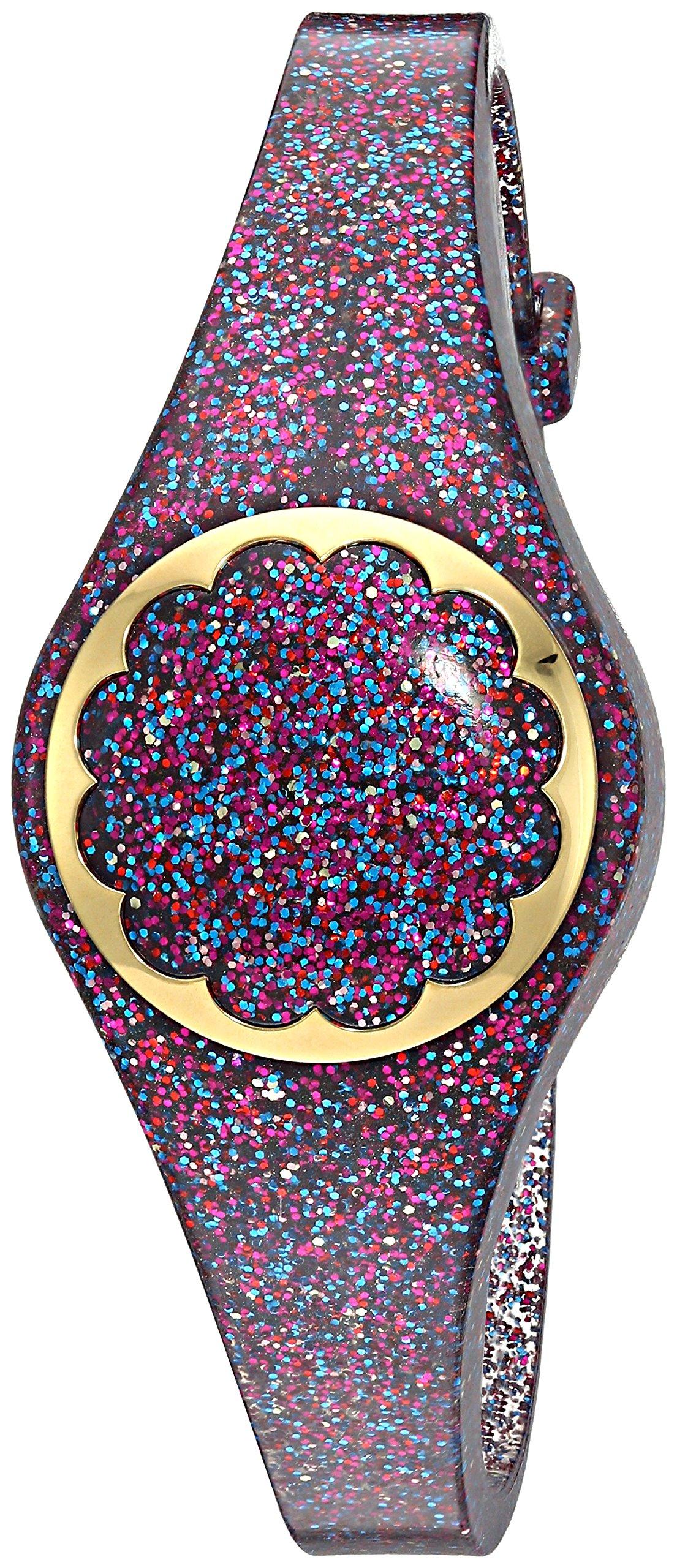 Kate Spade New York multi glitter scallop activity tracker