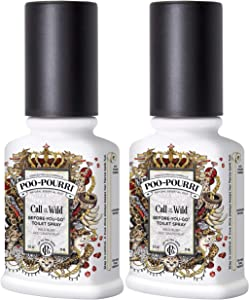 Poo-Pourri Call of The Wild Before-You-Go-Toilet Spray - 2-Ounce, 2 Pack