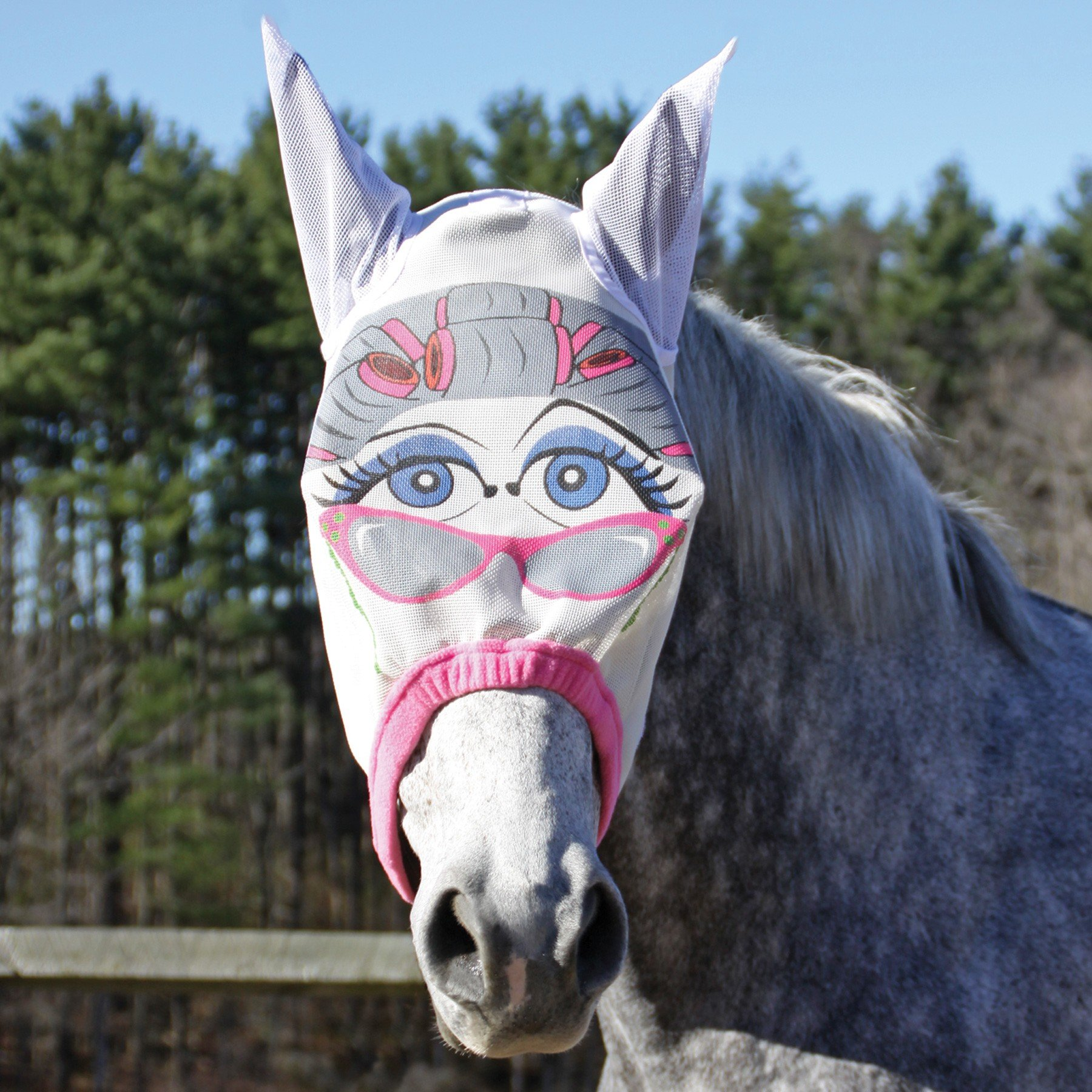 Dura-Tech Granny Fly Mask with Ears