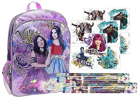 "Pencil Case +Bag LUNCH Bag Descendants 2 Wickedly Cool 16/"" BACKPACK 5 pcs"