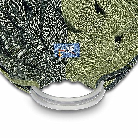 HOPPEDIZ Ring-Sling, Écharpe de portage en sergé croisé avec guide  d utilisation, Miami  Amazon.fr  Bébés   Puériculture 4440eaaa34d