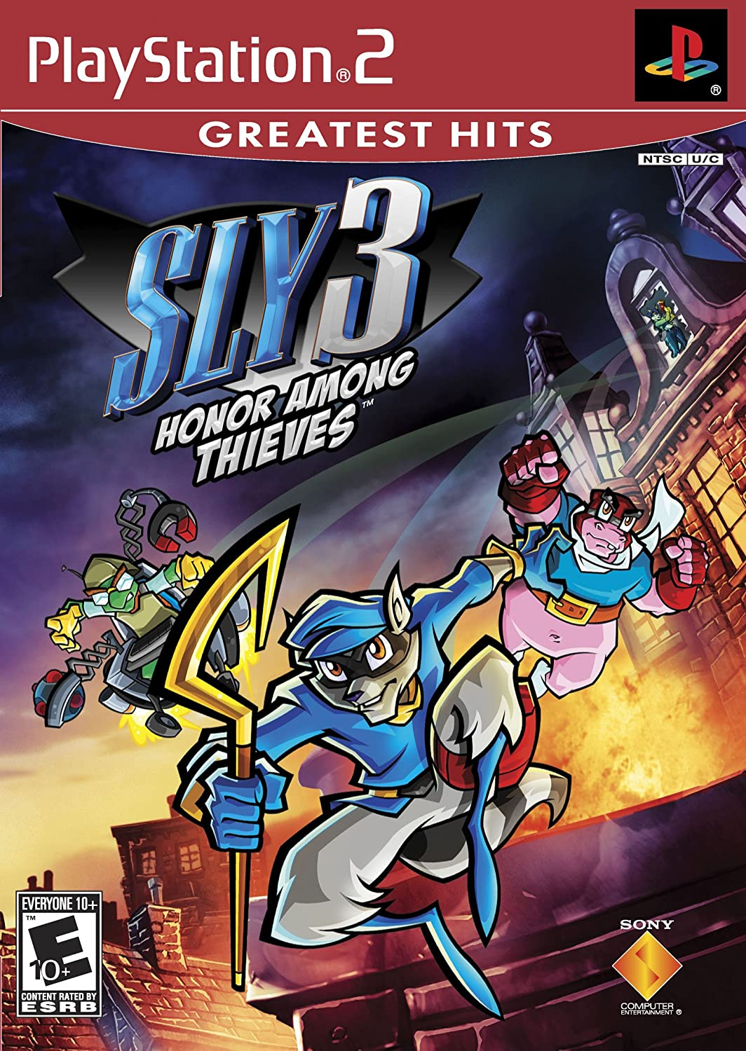 Sony Sly 3: Honor Among Thieves, PS2 PlayStation 2 Inglés vídeo ...