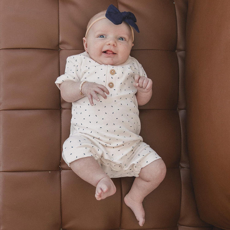 MakeMake Organics Organic Cotton Baby Short Romper