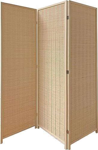 Screen Gems Room Divider, Natural Brown
