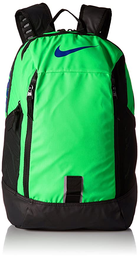 Nike Alpha Adapt Rise Unisex Backpack Green Spark Black Deep Royal Blue   Amazon.in  Bags