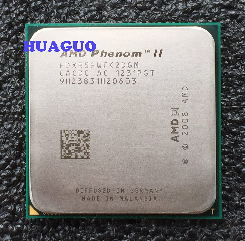 AMD Phenom II X2 B59 3.4GHz 2x512KB//6MB L3 Socket AM3 Dual-Core CPU